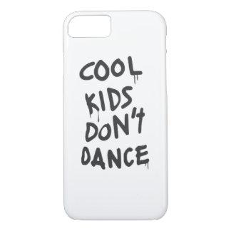 Coole Kinder tanzen nicht Telefon-Kasten iPhone 7 Hülle
