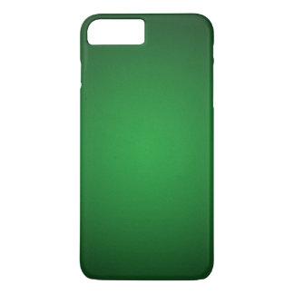 Coole körnige Grün-Schwarze Vignette iPhone 7 Plus Hülle