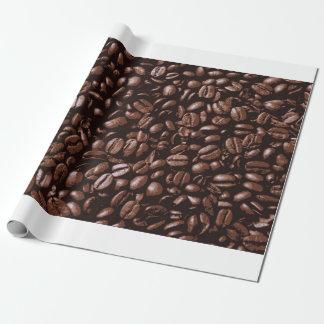 Coole köstliche Kaffeebohnen Browns Geschenkpapier