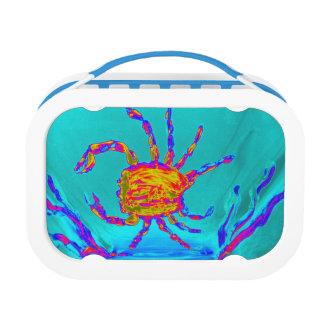 Coole Krabben-Undersea Kunst Brotdose