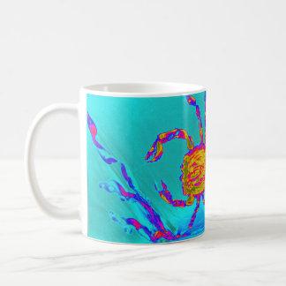 Coole Krabben-Undersea Kunst Kaffeetasse