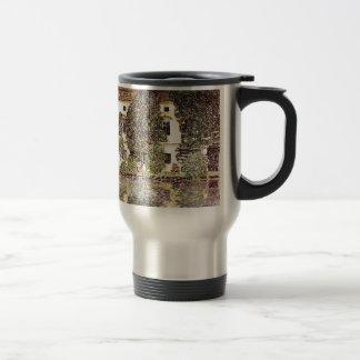 Coole Landschaft - Gustav Klimt Edelstahl Thermotasse