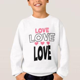 coole Liebeentwürfe Sweatshirt