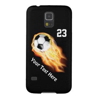 Coole lodernde Fußball-Telefon-Hüllenen-NEUE Galaxy S5 Hüllen