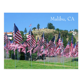 Coole Malibu-Postkarte! Postkarte