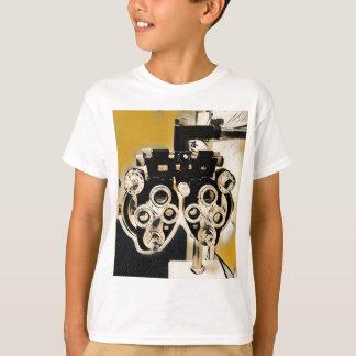Coole moderne Optometriker Phoroptor Linsen T-Shirt