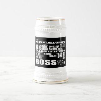 Coole moderne Spaß-Chefs: Bestster Chef Bierkrug