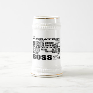 Coole moderne Spaß-Chefs: Bestster Chef Teetassen