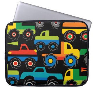 Coole Monster-LKW-Transport-Geschenke für Jungen Laptop Sleeve Schutzhüllen