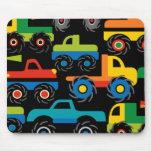 Coole Monster-LKW-Transport-Geschenke für Jungen Mauspad