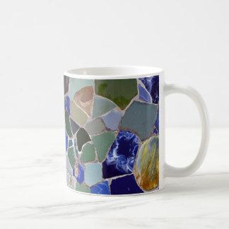 Coole Mosaiken Antoni Gaudi Kaffeetasse