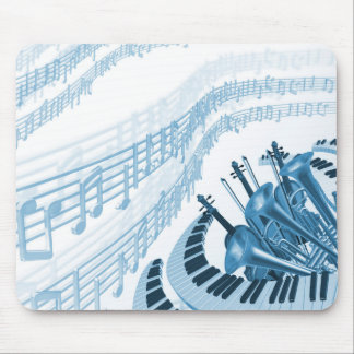 Coole Musiknoten-Mausunterlage Mauspad