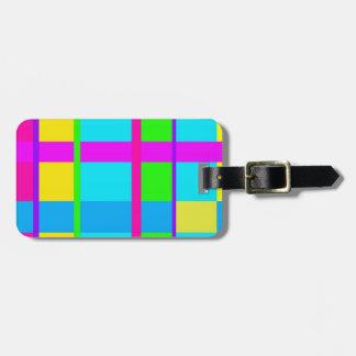 Coole Neonfarben - Frauenreise-Gepäckumbau Kofferanhänger