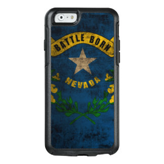 Coole Nevada-FlaggeVintager Grunge OtterBox iPhone 6/6s Hülle