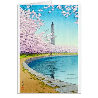 Coole orientalische Japaner Hasui Kawase Karte