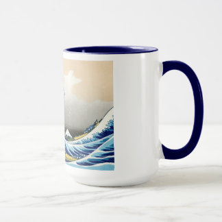 Coole orientalische Japaner Hokusai Fuji Tasse