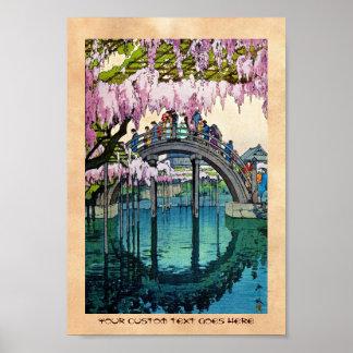 Coole orientalische Japaner Kameido Poster