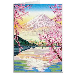 Coole orientalische Japaner Karte