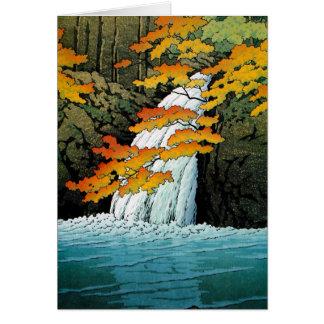 Coole orientalische Japaner Kawase Senju Karte
