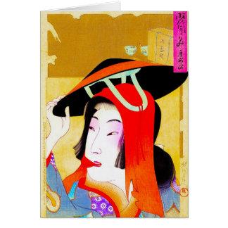 Coole orientalische japanische klassische karte