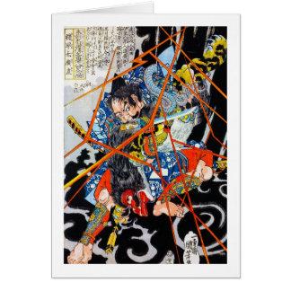Coole orientalische japanische legendäre karte