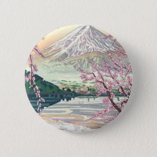 Coole orientalische runder button 5,7 cm