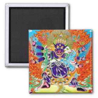 Coole orientalische tangka Yamantaka Todesgottätow Magnete