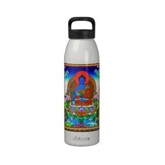 Coole orientalische tibetanische thangka Bhaisajya Trinkflasche