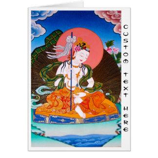 Coole orientalische tibetanische thangka mandarava karte