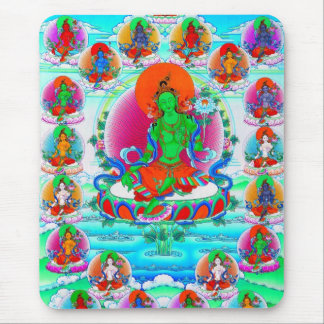 Coole orientalische tibetanische thangka mauspads