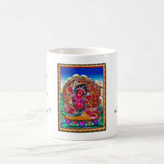 Coole orientalische tibetanische thangka tasse