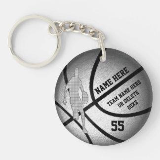 Coole personalisierte Basketball-Team-Geschenke Schlüsselanhänger