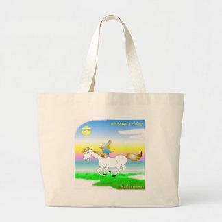 Coole Pferderuecken-Reitgeschenke für Kinder Einkaufstasche