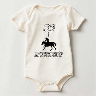 Coole POLO-Entwürfe Baby Strampler