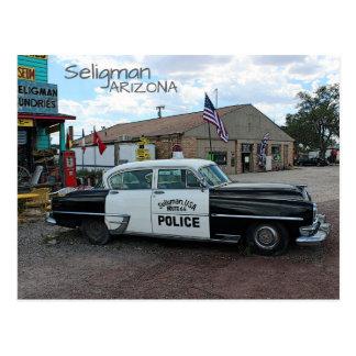Coole Postkarte Seligman Weg-66!
