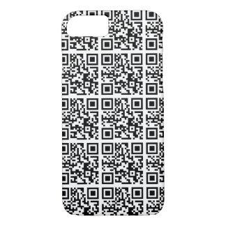 Coole QR Code-Tier-Erhaltung iPhone 8/7 Hülle