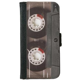 Coole Retro Achtzigerjahre Vintage Kasette iPhone 6 Geldbeutel Hülle