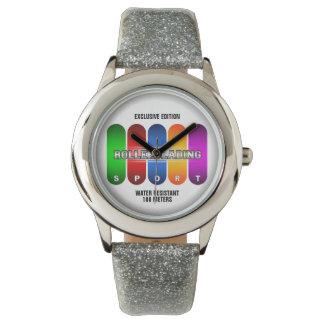 Coole Rollerblading Sport-Uhr (mehrfache Modelle) Uhr