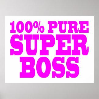 Coole rosa Geschenke für Chefs: 100% reiner Superc Plakatdrucke