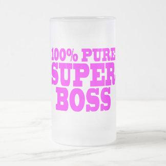 Coole rosa Geschenke für Chefs: 100% reiner Superc Haferl