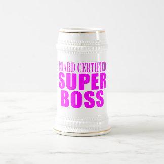 Coole rosa Geschenke für Chefs: Superchef Tasse