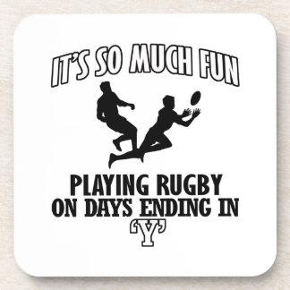 coole Rugby ENTWÜRFE Untersetzer