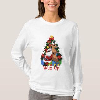 Coole Sankt und Ren T-Shirt