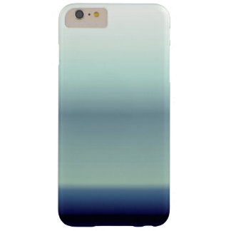 Coole Schatten blauer Ombre Steigung Barely There iPhone 6 Plus Hülle