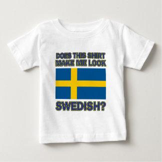 Coole Schwedeentwürfe Baby T-shirt