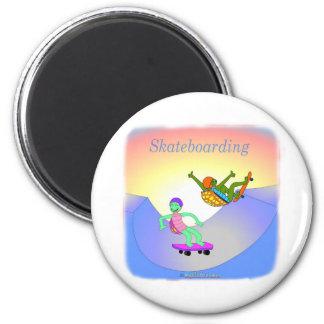 Coole skateboarding Geschenke für Kinder Kühlschrankmagnet
