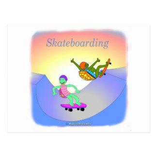 Coole skateboarding Geschenke für Kinder Postkarten