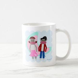 Coole Socken-Hopfensocken-Affen Kaffeetasse