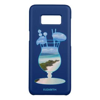 Coole Sommer-Insel-Ozean-Strand-Palmen und Sand Case-Mate Samsung Galaxy S8 Hülle
