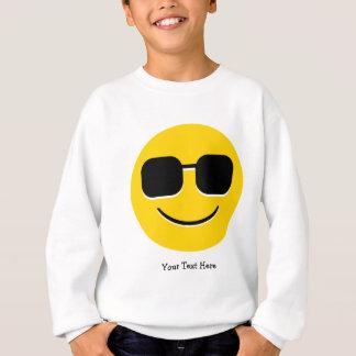 Coole Sonnenbrillen Emoji (kundengerecht) Sweatshirt